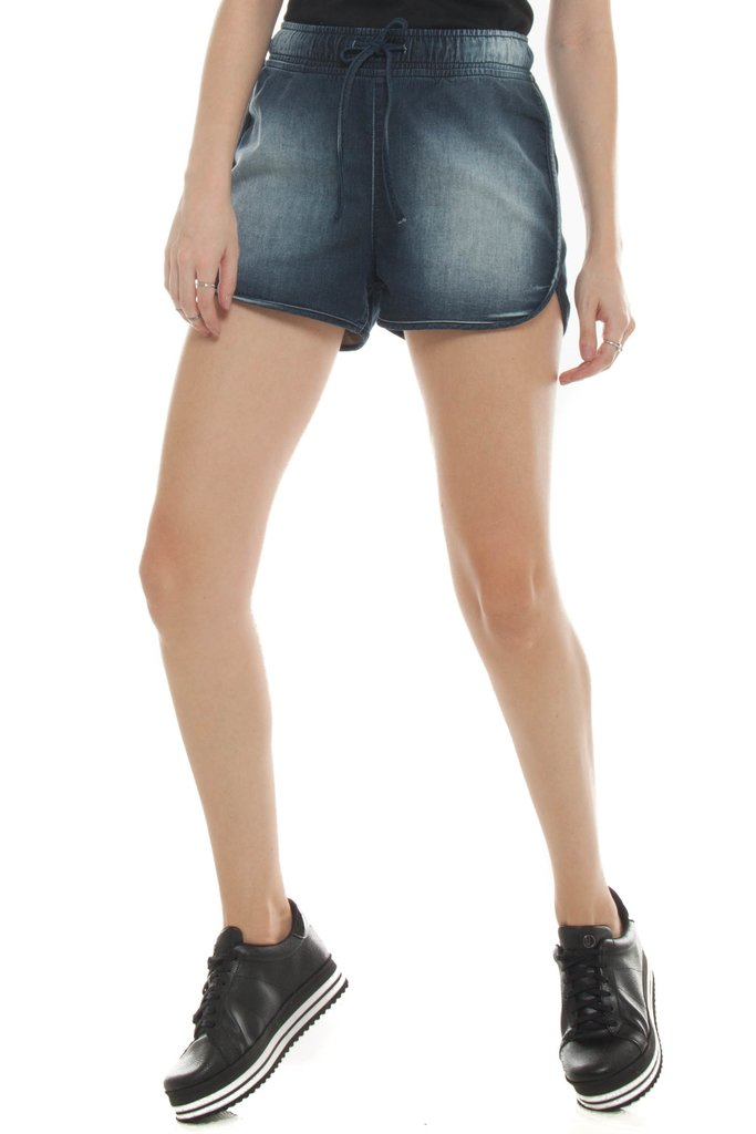 Shorts Jeans Eventual Box Azul