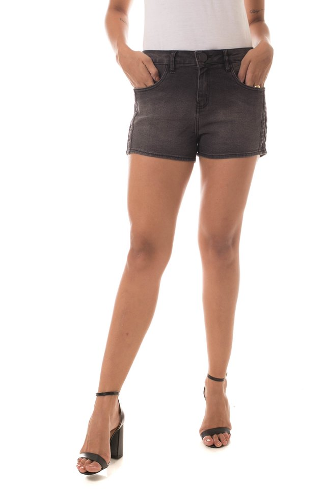 Shorts Jeans Eventual Ease Cinza