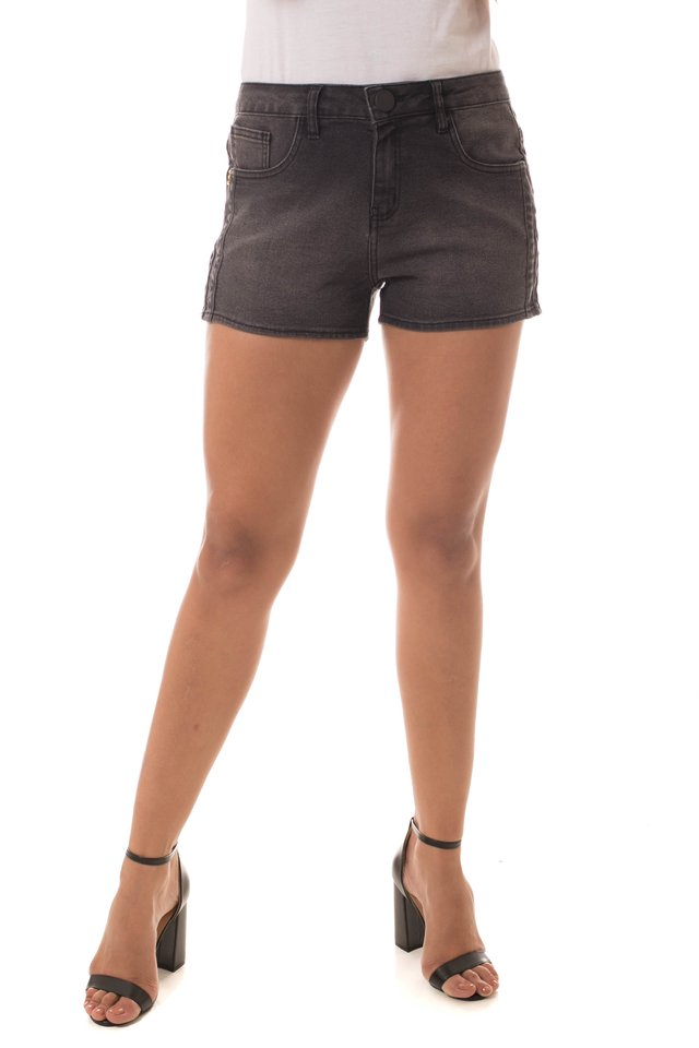 Shorts Jeans Eventual Ease Cinza - comprar online