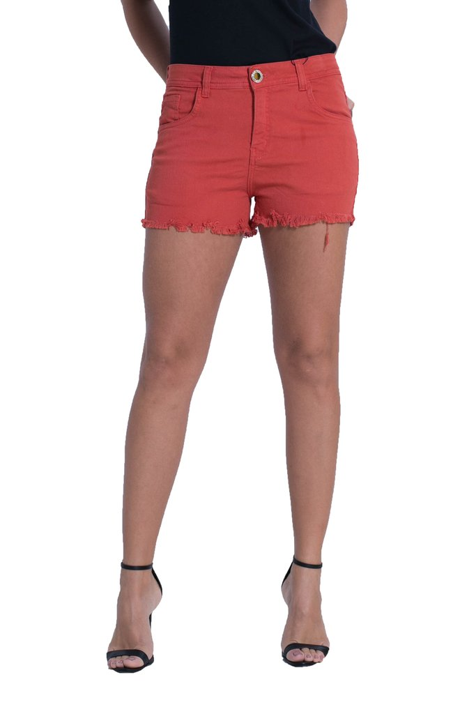 Shorts Jeans Eventual Mid Drop Cenoura