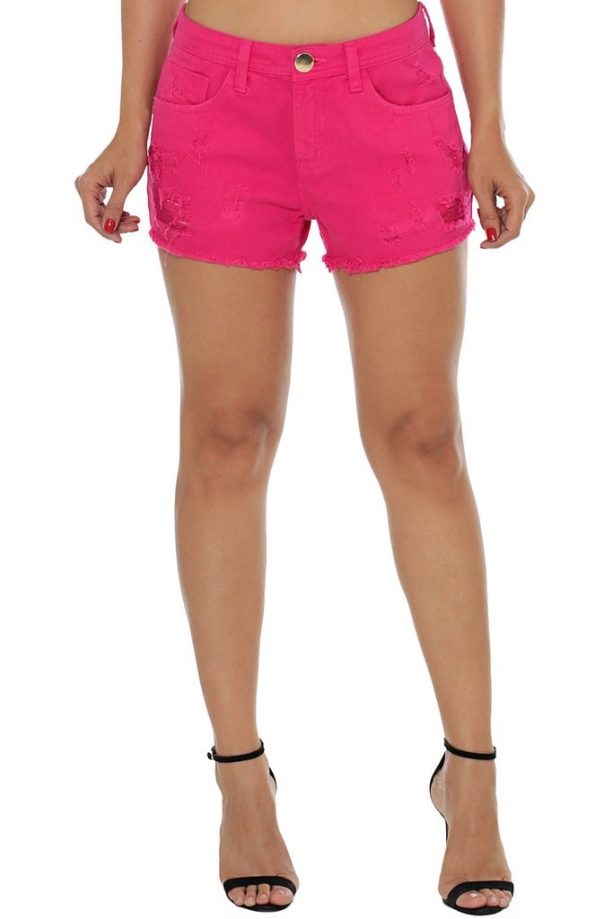 Shorts Eventual Ease Rosa