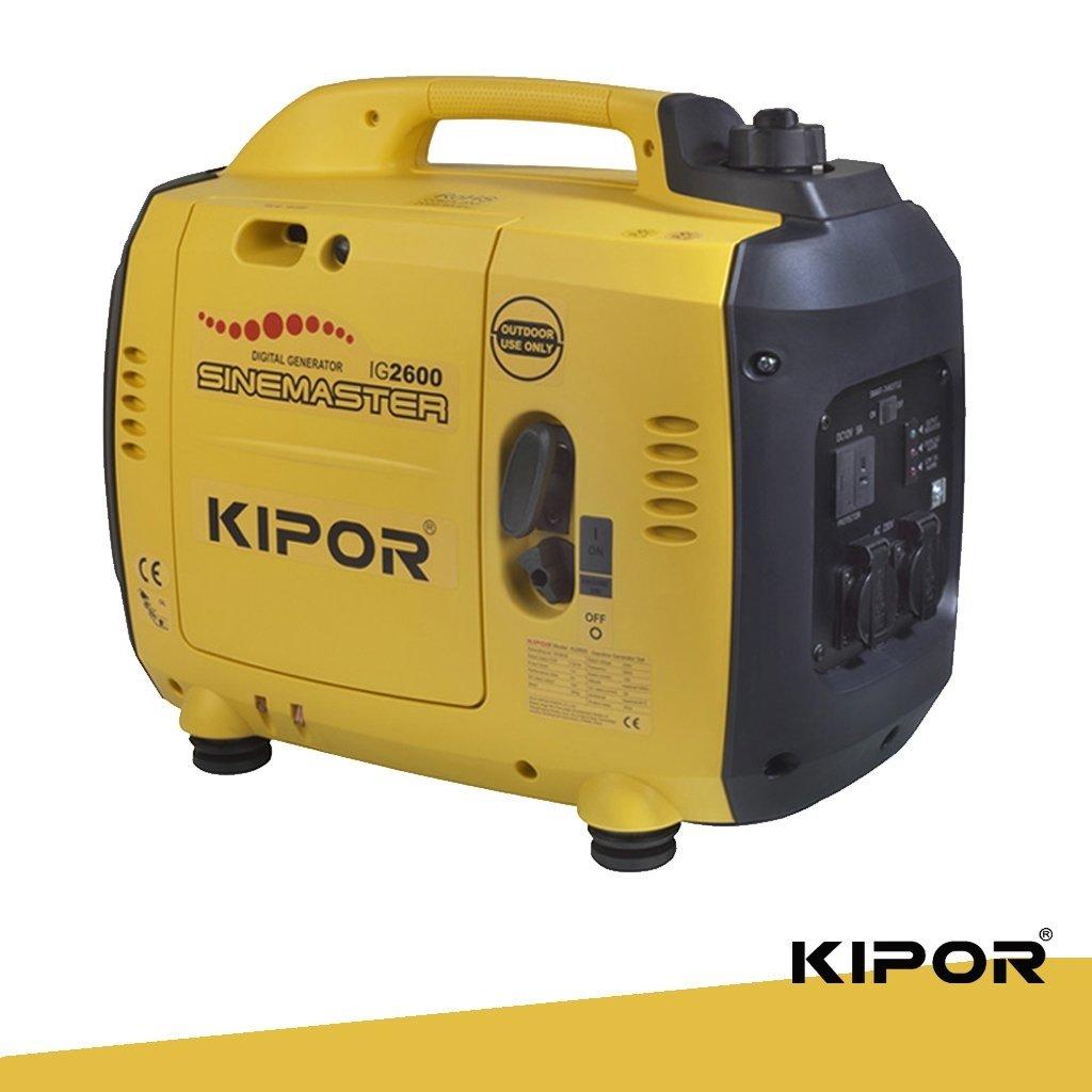 Grupo Electrogeno Inverter Kipor Ig2600, Equipamientos