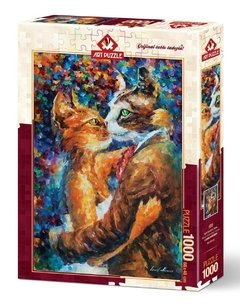 Leonid Afremov: Dance of the Cats in Love, 1000p - comprar online