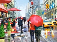 Richard Macneil: New York Cafe, 2000p
