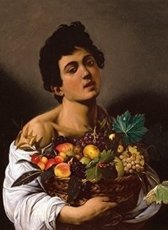 Caravaggio: Boy with a Basket of Fruit, 1000p