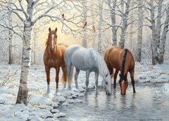 Persis Clayton Weirs: Winter Trio, 1000p