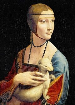 Da Vinci: Lady with an Ermine, 1000p