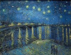 Van Gogh: Starry Night Over the Rhone, 1000p
