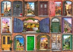 Dominic Davison: Doors of Europe, 1500p