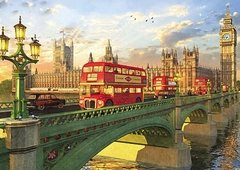 Dominic Davison: Westminster Bridge, London, 2000p