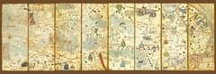 Map of The World 1375, 3000p
