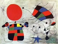 Miró: The Smile of the Flamboyant Wings, 1000p