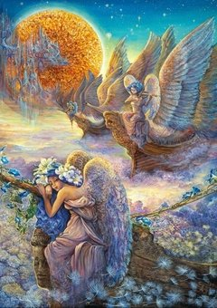 Josephine Wall:  I Saw Three Ships, 1000p