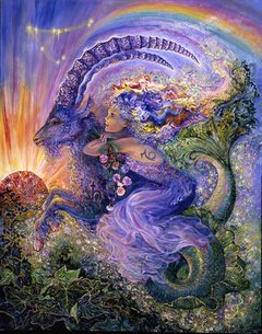 Josephine Wall: Zodiac Sign - Capricorn, 1000p