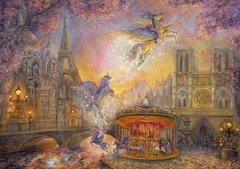 Josephine Wall: Magical Merry Go Round, 1500p