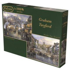 Graham Twyford: Coniston, Cumbria / Market Day, Keswick, 2x1000p