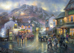 Graham Twyford: Coniston, Cumbria / Market Day, Keswick, 2x1000p - comprar online