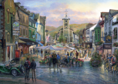 Graham Twyford: Coniston, Cumbria / Market Day, Keswick, 2x1000p na internet