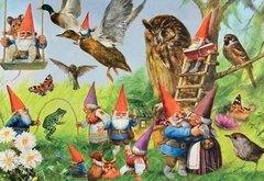 At the Forest with the Gnomes, 1000p