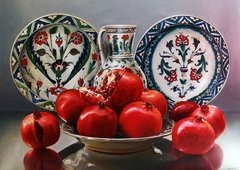Porcelain and Pomegranates, 1000p