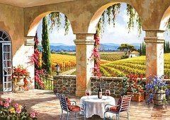 Sung Kim: Wine Country Terrace, 1500p