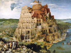 Pieter Bruegel: The Tower of Babel, 5000p