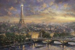 Thomas Kinkade: Paris, City of Love, 1000p