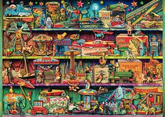 Aimee Stewart: Magical World of Toys, 1000p