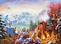 Thomas Kinkade: Ice Age, 1000p