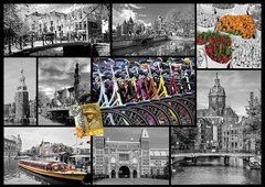 Amsterdam Collage, 1000p