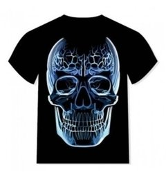 Camisetas Glass Skull