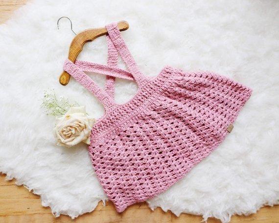 Falda Para Bebe Tejido Crochet Comprar En Comers
