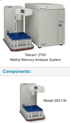 Tekran ® Model 2700 Automated Methyl Sistema de Análise de Mercúrio