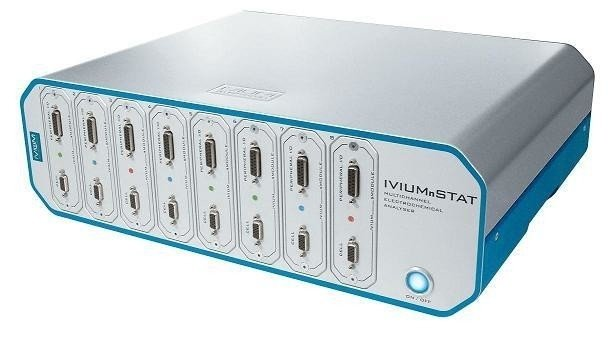 Ivium-n-Stat: multichannel electrochemical analyzer