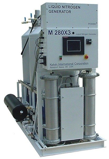 Double M280X3 Plant for the Total Production More than 300 (350 peak) liters per day