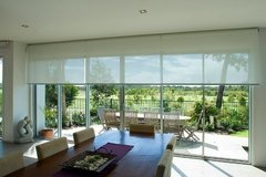 Cortinas Roller Sun Screen Blanco - Dix Decoraciones
