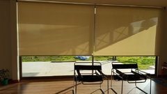 Cortinas Roller Sun Screen Blanco