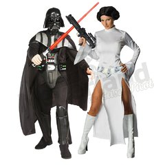 Darth Vader y Princesa Leia (Star Wars)