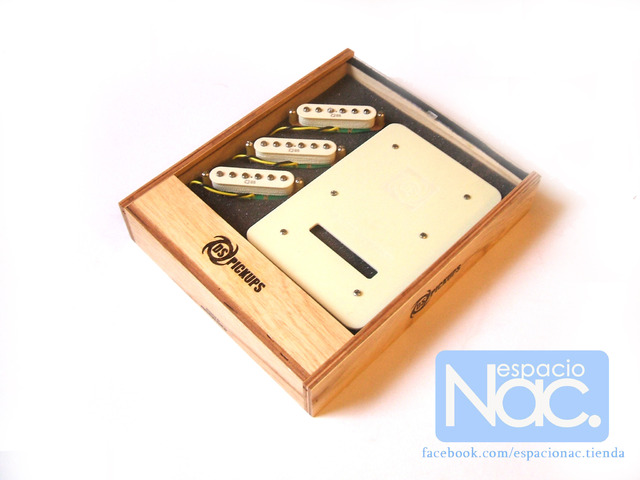 DS Pickups - Plate Bucker Set (Sistema cancelador de ruido + 3 Pickups)