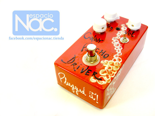 Plugged it! - Psycho Driver (Fuzz - Distortion) - comprar online