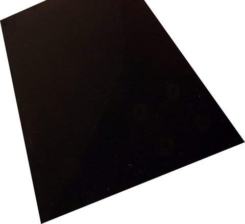 Ds A100 - Placa para Pickguards (Negro Brillante)