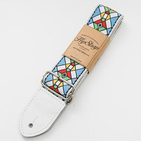 HipStrap - Stained Glass Blue (correa para guitarra y bajo)