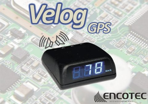Velog GPS display AZUL