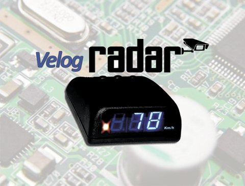 Velog RADAR display AZUL