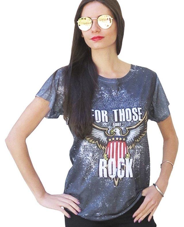 Camiseta ABOUT ROCK