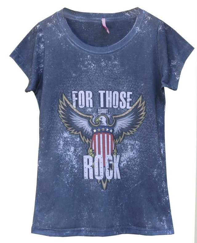 Camiseta ABOUT ROCK - Little White Tee