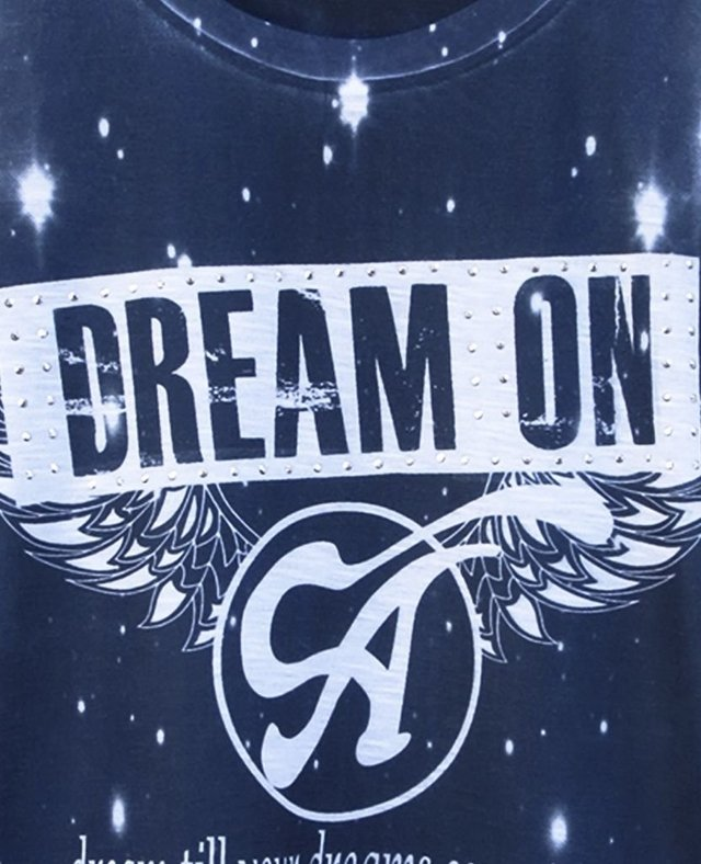 IN 513 Camiseta DREAM ON na internet