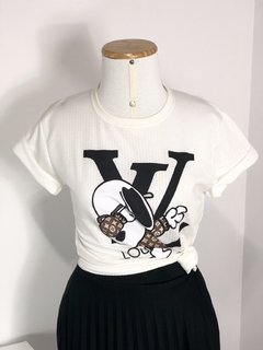 T-SHIRT SNOPPY VUITTON na internet