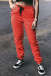 CALÇA JOGGER TACTEL ORANGE na internet