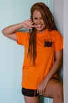 Camiseta Riot Orange Vibes laranja